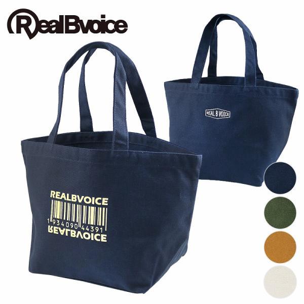 リアルビーボイス ミニトートバッグ BARCODE CANVAS MINI TOTE BAG RealBvoice 10169-10869