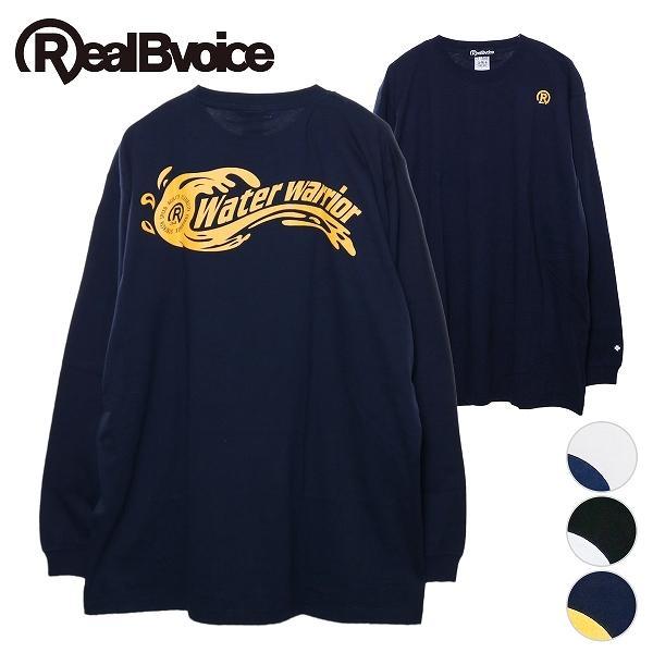リアルビーボイス ロングTシャツ メンズ CIRCLE R34 WW LONG T-SHIRT RealBvoice 10191-10899A