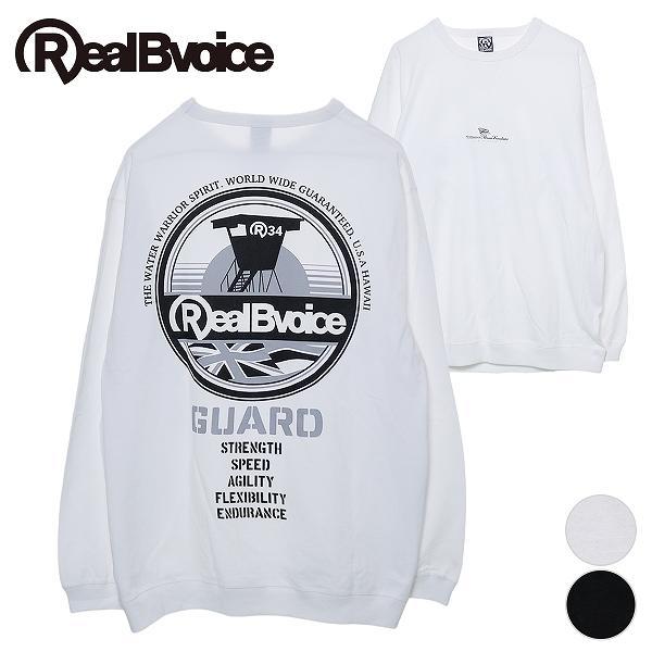リアルビーボイス ロングTシャツ メンズ GUARD TOWER RIB LONG T-SHIRT RealBvoice 10191-10900A