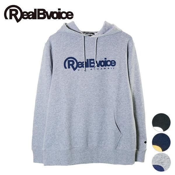リアルビーボイス プルオーバーパーカー メンズ BASIC RBV LOGO PARKA RealBvoice 10191-10908