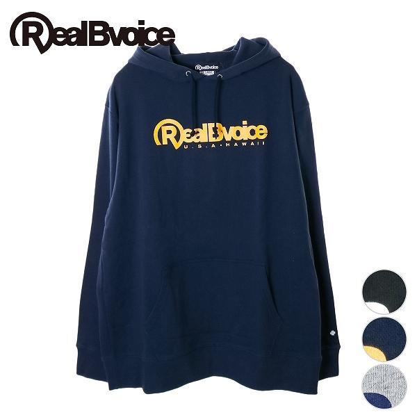 リアルビーボイス プルオーバーパーカー メンズ BASIC RBV LOGO PARKA  10191-10908A