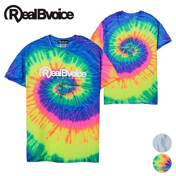 リアルビーボイス Tシャツ メンズ BASIC LOGO SPIDER T-SHIRT RealBvoice 10231-11049