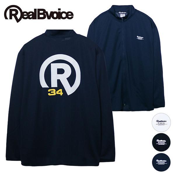 リアルビーボイス ドライジップジャケット メンズ BASIC R34 LOGO DRY ZIP JACKET RealBvoice 10231-11092A