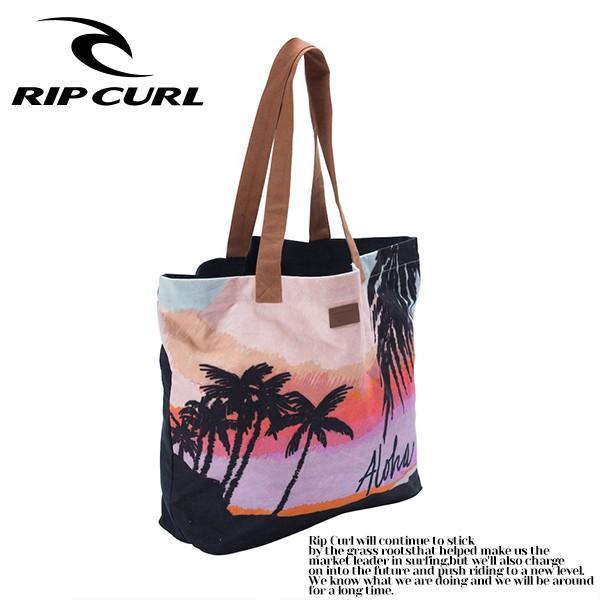 リップカールトートバッグ RIP CURL 人気 ブランド バッグ レディース 女性 おしゃれ かわいい プレゼント 夏 海 A4サイズ入ります 大容量 ギフト V04-934