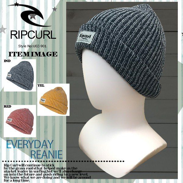 リップカール メンズ ビーニー ニット帽 U02-901 RIPCURL