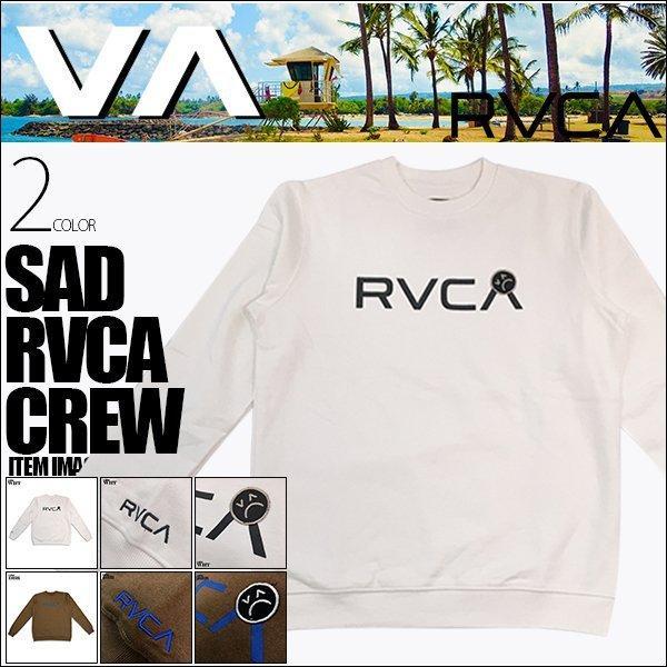 ルーカ メンズ SAD RVCA CREW トレーナー 長袖 RVCA AJ042-006