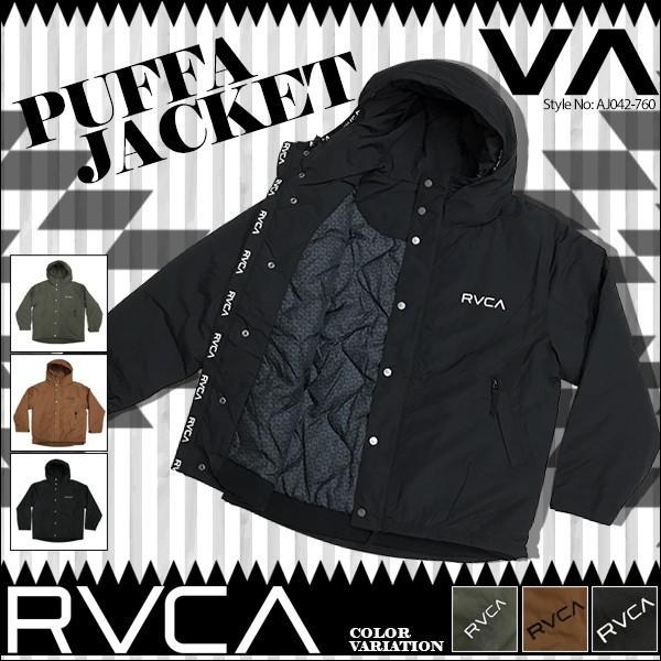 ルーカ ジャケット メンズ PUFFA JACKET ジャケット RVCA AJ042-760