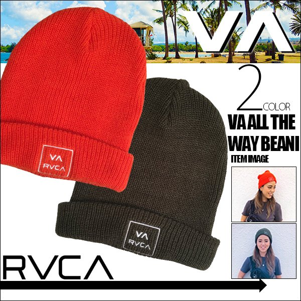 ルーカ メンズ レディース ユニセックス VA ALL THE WAY BEANI RVCA AJ042-930