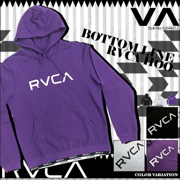 ルーカ レディース RVCA BOTTOM LINE RVCA HOO パーカー AJ044-012