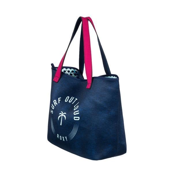 送料無料 ロキシートートバッグ ROXY バッグ レディース 女性 リバーシブル プレゼント A4サイズ入ります 大容量  ERJBT03088