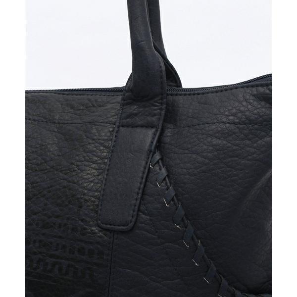e20a65ba8d62 ... ボルコム 人気ブランド バッグ レディース 女性 VAQUERA BAG レザー ジッパーポケット 選べる ネイティブ A4サイズ 大 ...