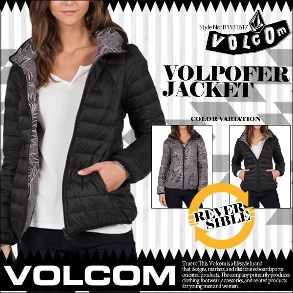 ボルコム ジャケット レディース リバーシブルジャケット VOLCOM B1531617