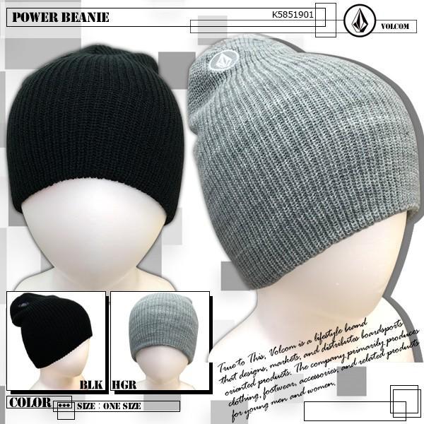 ボルコム ビーニー 帽子 VOLCOM K5851901