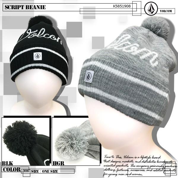 ボルコム ビーニー 帽子 VOLCOM K5851908