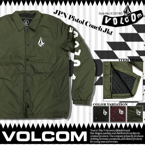 ボルコム ジャケット VOLCOM JPN Pistol Coach Jkt A1501901
