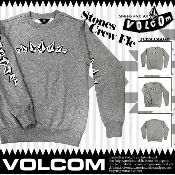 ボルコム メンズ Stones Crew Flc VOLCOM A4601901