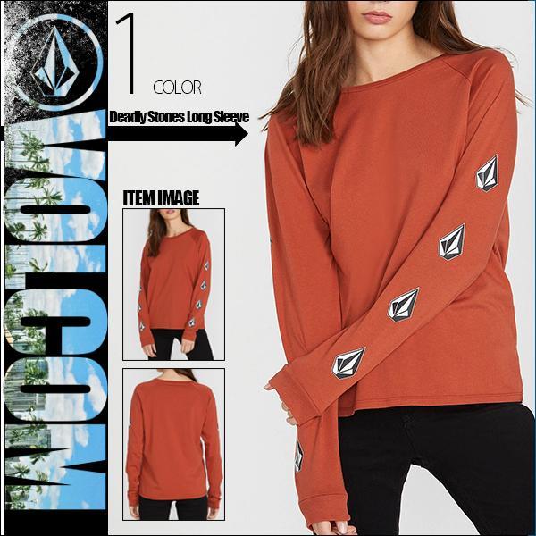 ボルコム レディース ロング Tシャツ Deadly Stones Long Sleeve VOLCOM B3531903