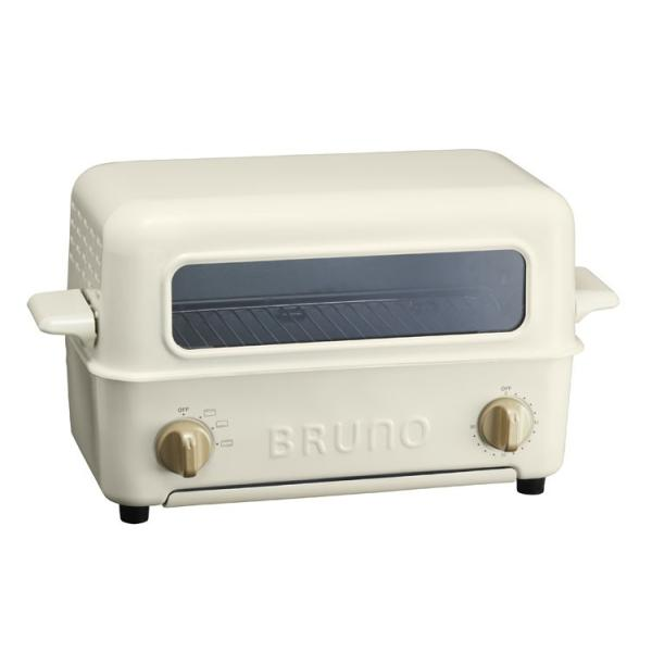 RoomClip商品情報 - オーブントースター トップオープン式 BRUNO ブルーノ トースターグリル BOE033 ホワイト