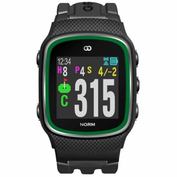 グリーンオン ザ・ゴルフウォッチ ノルム (G015B) ゴルフ (距離計 時計 ナビ GPS GPSナビ みちびき)(距離計測器 距離計測 距離計 距離測定 距離測定器)|alpen-group
