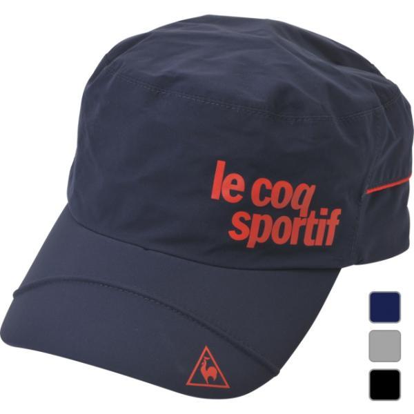 ルコックゴルフゴルフウェアレインキャップ帽子QGBNJC01メンズlecoqGOLF