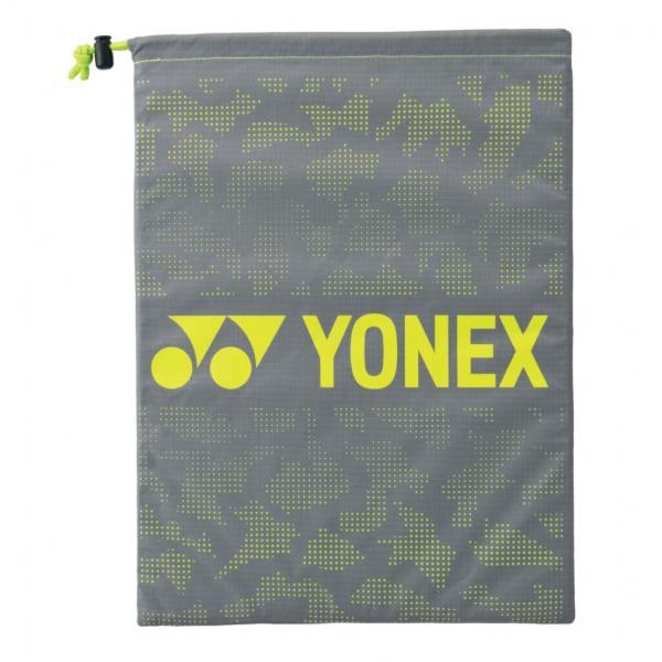 ヨネックス シューズケース BAG2193 テニス : グレー×イエロー YONEX