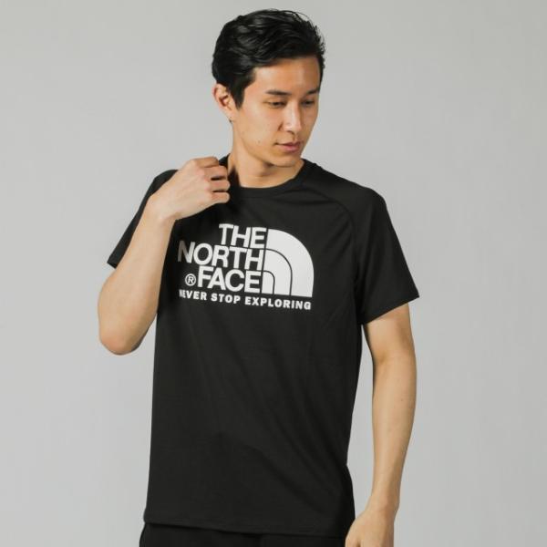 ザ ノース フェイス THE NORTH FACE メンズ 陸上/ランニング 半袖Tシャツ S/S GTD LOGO CREW NT31970|alpen-group