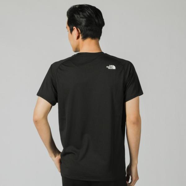 ザ ノース フェイス THE NORTH FACE メンズ 陸上/ランニング 半袖Tシャツ S/S GTD LOGO CREW NT31970|alpen-group|03