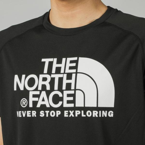 ザ ノース フェイス THE NORTH FACE メンズ 陸上/ランニング 半袖Tシャツ S/S GTD LOGO CREW NT31970|alpen-group|05