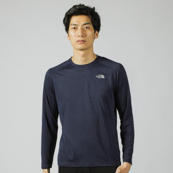 ザ ノース フェイス 陸上 ランニング 長袖Tシャツ L/S GTD MELANGE CR NT61889 THE NORTH FACE alpen-group