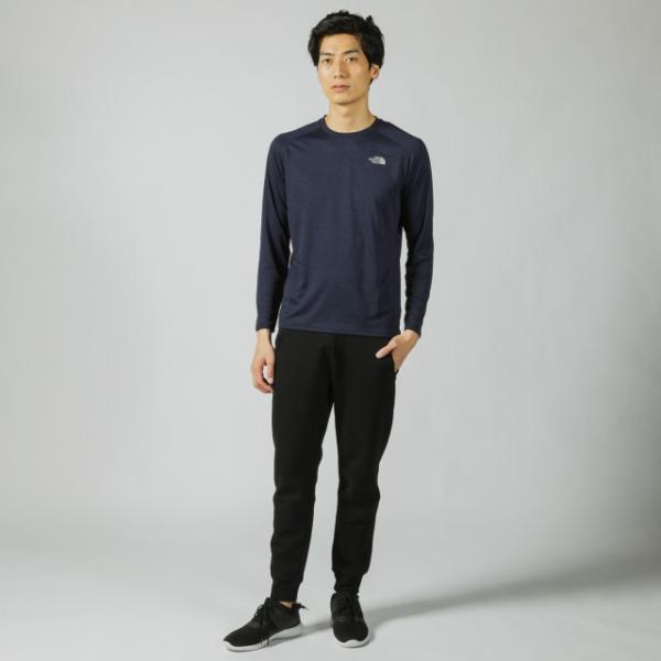 ザ ノース フェイス 陸上 ランニング 長袖Tシャツ L/S GTD MELANGE CR NT61889 THE NORTH FACE alpen-group 02