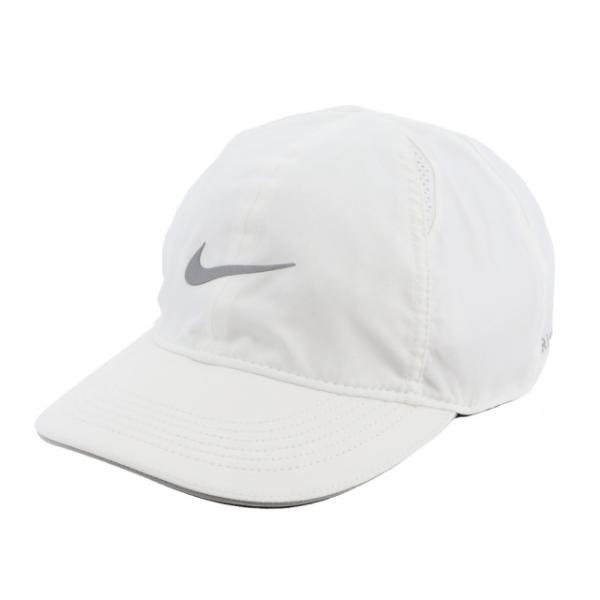 ナイキレディース陸上/ランニングキャップナイキウィメンズフェザーライトランキャップAR2028-100帽子:ホワイトNIKE