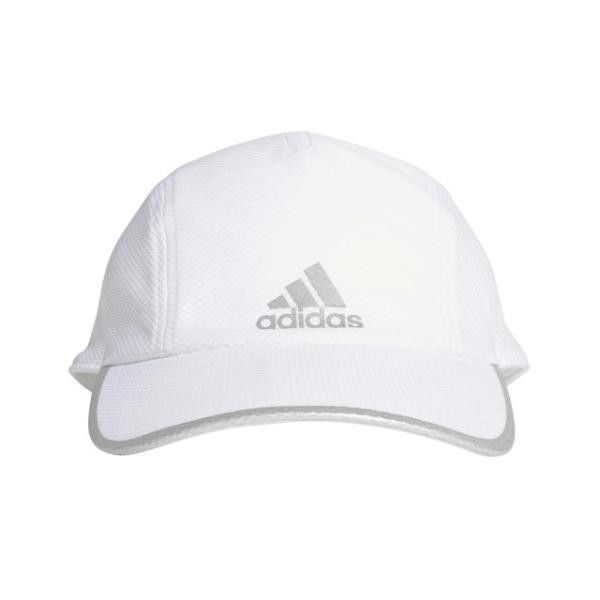 アディダス陸上ランニングキャップRUNMESCAA.R.FK0837帽子:ホワイト×ホワイトadidas