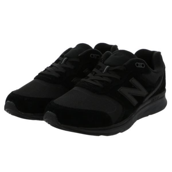 ニューバランス MW880 4E AB4 メンズ ウォーキングシューズ : ブラック×ブラック New Balance