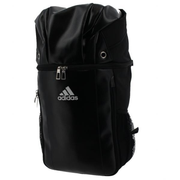アディダス ボール取り付け可能 デイパック バッグ 27L リュック サック ADP26BKBK サッカー/フットサル バックパック adidas
