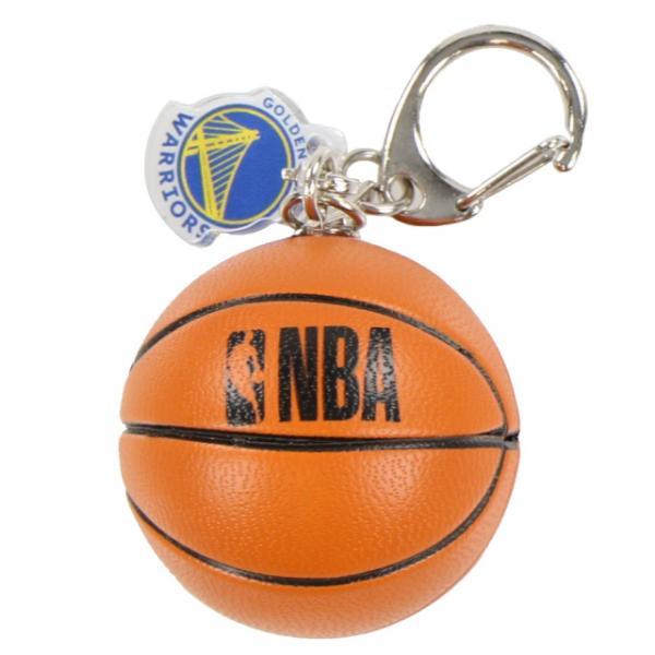 ボール型キーホルダー WARRIORS NBA34274 バスケットボール 小物