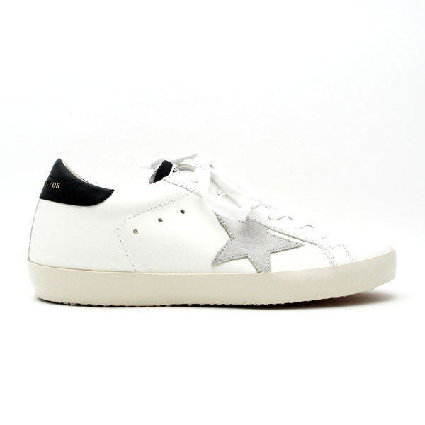 ゴールデングース GOLDEN GOOSE SNEAKERS SUPERSTAR レディース ローカット スニーカー WHITE-BLACK-GOLD LETTERING G32WS590 E73