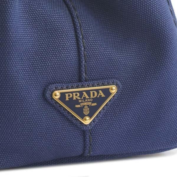 プラダ PRADA 2WAY ハンドバッグ ファブリック 1BG439 ZKI F0CTL CANAPA カナパ BLUETTE+TALCO