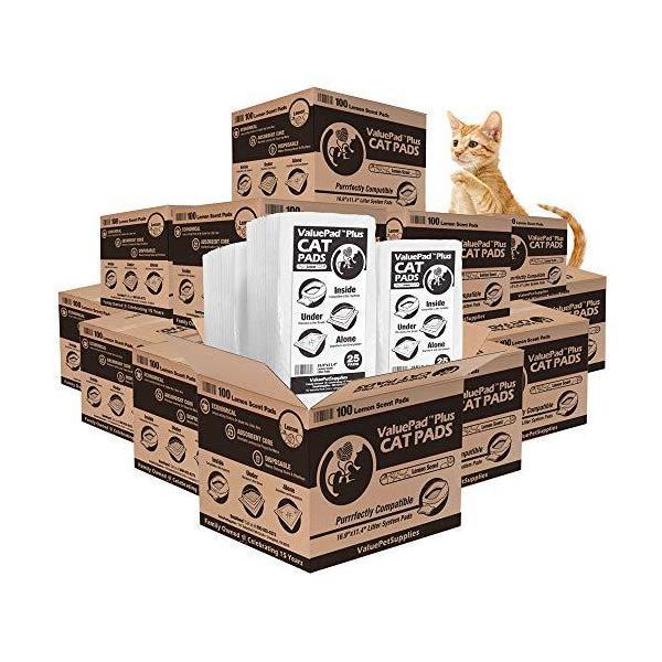 |ValuePad New Plus Cat Litter Pads, 16.9x11.4 Inch…