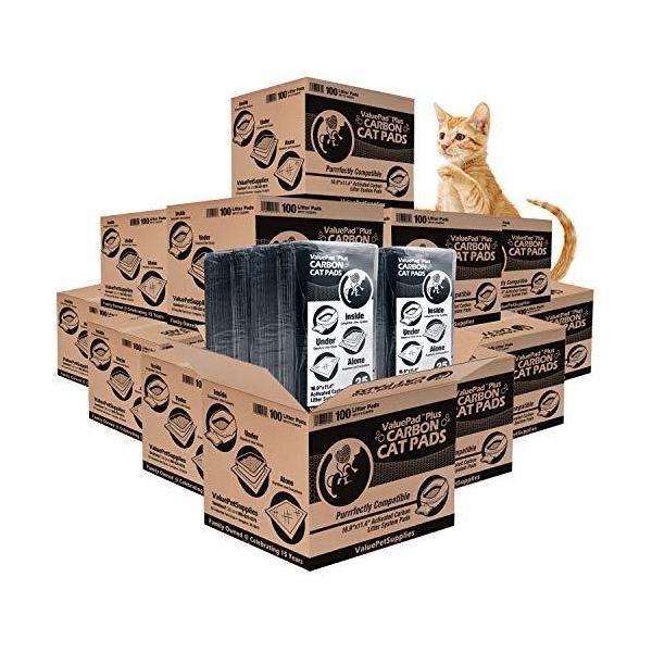 |ValuePad Plus Cat Litter Pads, 16.9x11.4 Inch, Ca…