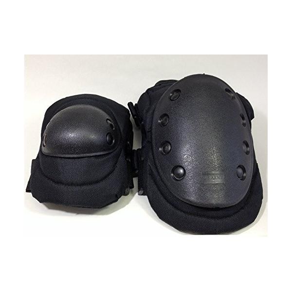 サバゲー エルボー ニーパッド セット 4点セット 膝 肘 プロテクター サバイバルゲーム 装備 戦争 AMMY アーミー ローラースケート スケボー s1|alpha-store|03