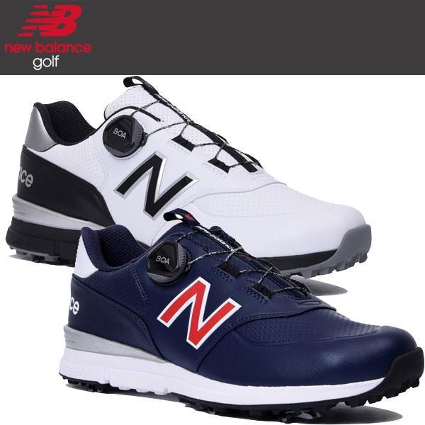 2019年モデル ニューバランス ゴルフ boa ソフトスパイク シューズ メンズ MGB574 V2 (W2 / T2) / 日本正規品 / NEW BALANCE|alphagolf