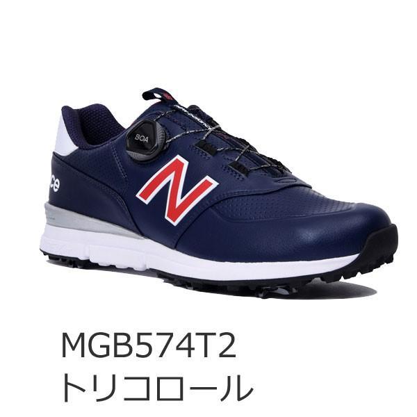 2019年モデル ニューバランス ゴルフ boa ソフトスパイク シューズ メンズ MGB574 V2 (W2 / T2) / 日本正規品 / NEW BALANCE|alphagolf|03