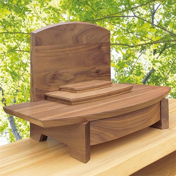 供養壇 幅50cm 高さ50cm 天然木 ウォールナット ナラ クラフト リバーシブル可 日本製 北海道 ペット仏壇 現代仏壇 クラフトステージ 送料無料 ALTAR|altar|02