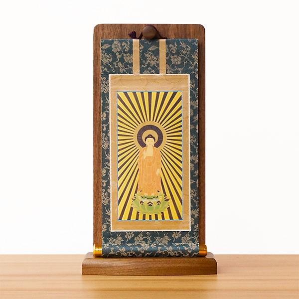 掛軸スタンド 20代 本尊掛軸掛け 幅13cm 高さ24cm 仏具 天然木 浄土真宗 クラフト 北海道生産 職人 オープンタイプ仏壇 ナチュラル セール 送料無料 ALTAR|altar|04