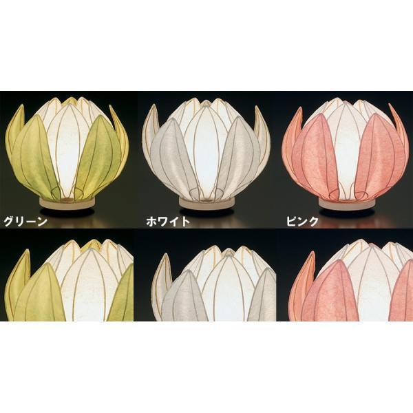 盆提灯 はなあかり カラー3色 花のつぼみ デザイン ライト 照明 仏具 職人 日本製 美しい 送料無料 ALTAR アルタ|altar|02