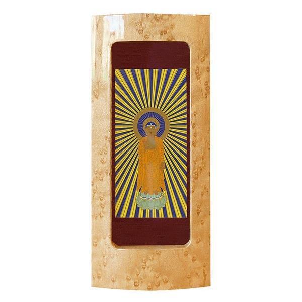 掛軸 Sサイズ 1幅 カラー2色 仏画 22種類 天然木 バーズアイメープル 日本製 浄土真宗 スタンド式 磨き塗装 仏具 送料無料 ALTAR 仏壇 モダン|altar|06