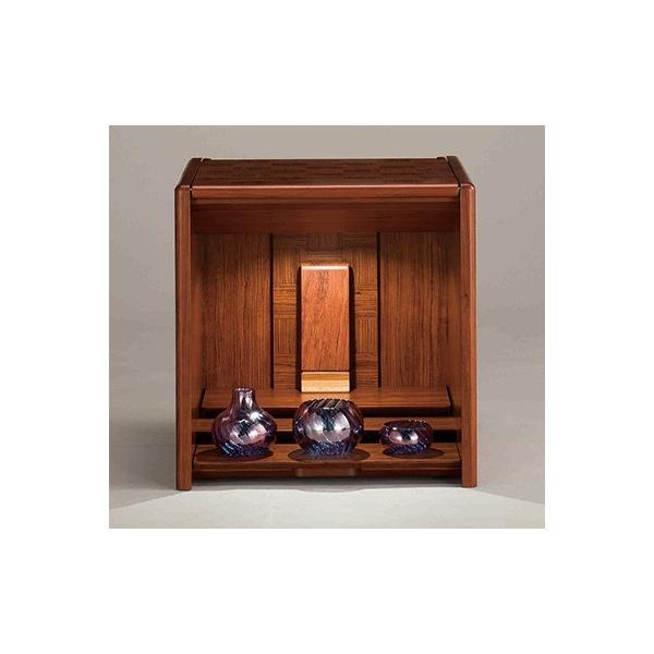 コンパクト仏壇 キューボ 幅34.2cm 高さ34.5cm 市松模様 LED照明 現代仏壇 モダン仏壇 手元供養 送料無料 日本製 ALTAR セール|altar|03