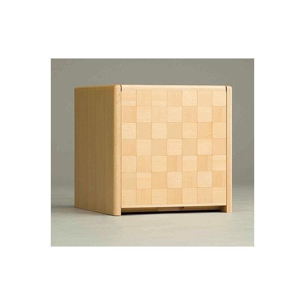 コンパクト仏壇 キューボ 幅34.2cm 高さ34.5cm 天然木メイプル 市松模様 LED照明 現代仏壇 モダン仏壇 手元供養 送料無料 日本製 ALTAR セール|altar|02
