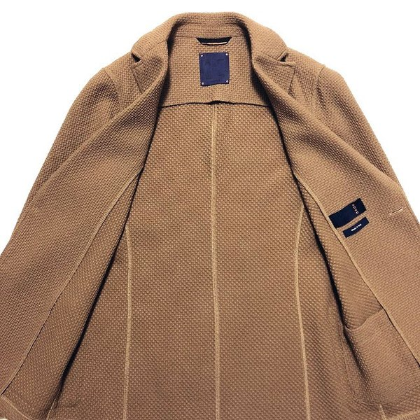ALTEA アルテア COPPER コッパー ワッフルジャージー 2Bジャケット altasotto 05