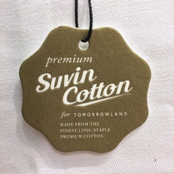 TOMORROWLAND トゥモローランド メンズ SUVIN COTTON クルーネックTシャツ|altasotto|07